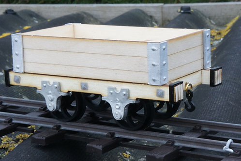 16mm scale Talyllyn 3 plank open wagon kit