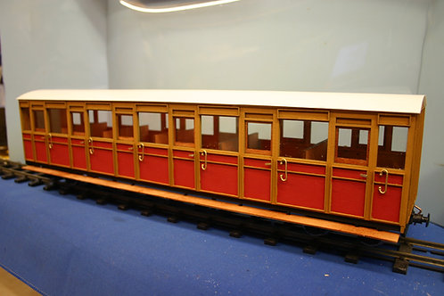 Talyllyn Carriage No 18 Coach Kit