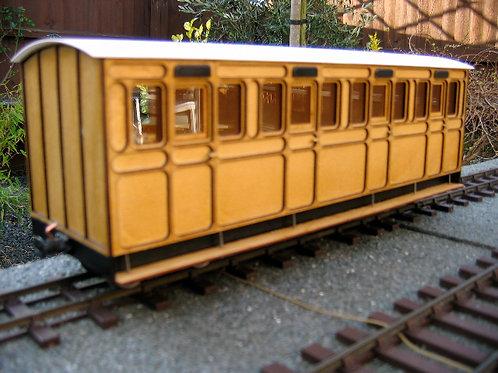 Freelance Four Compartment Coach Kit