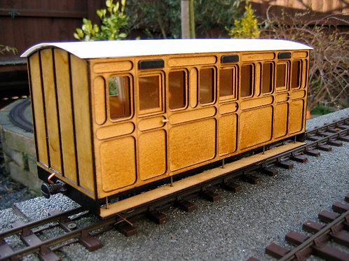 Freelance Three compartment coach kit