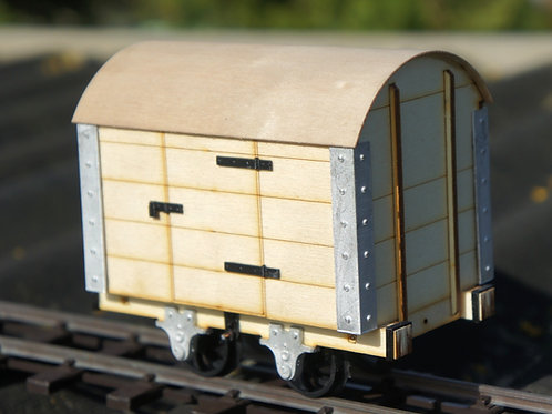 16mm scale Talyllyn Goods Van Kit