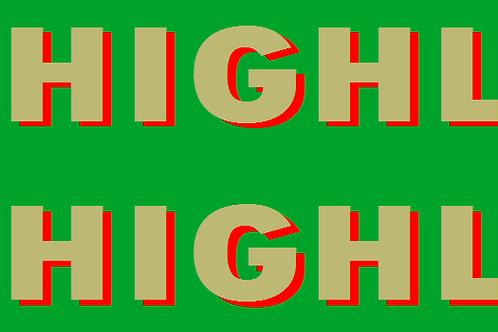 Welsh Highland Railway  Summer Coach Colour  Decals £6.00 per set
