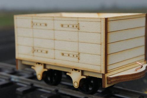 Hinged Door Coal Wagon Kit
