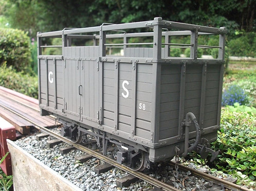 Tralee and Dingle Railway Open Roof Cattle Wagon Kit
