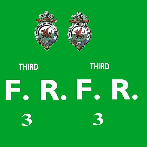 Ffestiniog No 3 Third Class Bug Box Coach Decals £6.00 per set