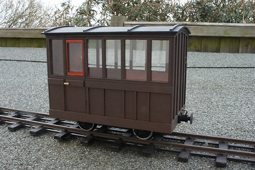 Lord Perhyn's Early Saloon Coach Kit
