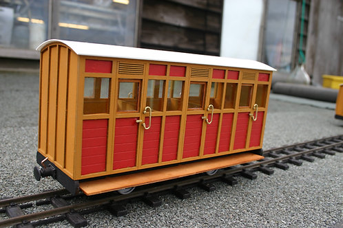 Talyllyn Carriage No 4 Coach Kit