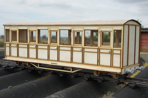 16 mm Scale Talyllyn No 9 Passenger Coach Kit