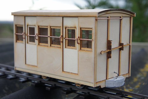 16 mm scale Darjeeling Coach No121Kit