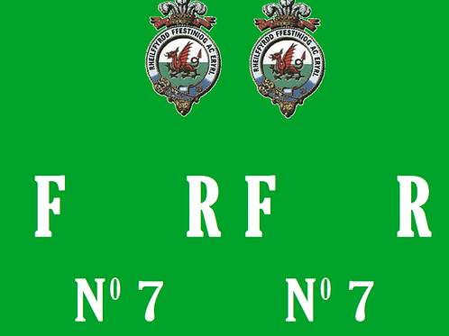 Ffestiniog No 7 Guards Van  Decals £6.00 per set