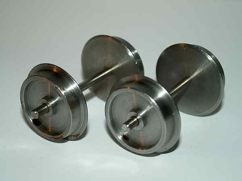Steel Wheels 20mm diameter