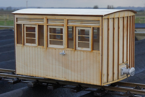 16mm Scale FR Carriage Matchboard Sided First Class Carriage Kit