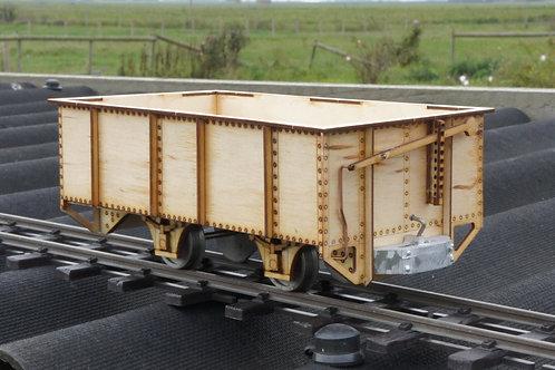 16mm Scale Darjeeling 4 Wheel Leeds Open Wagon kit