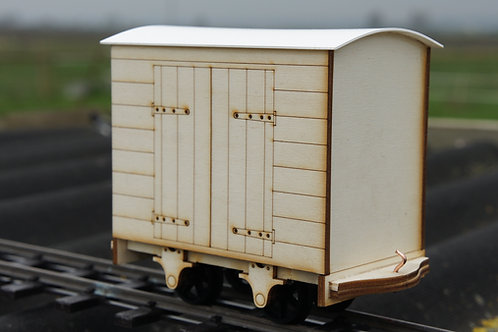Hinged Door Goods Wagon Kit
