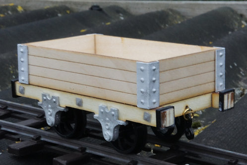 16mm scale Talyllyn 4 plank open wagon kit