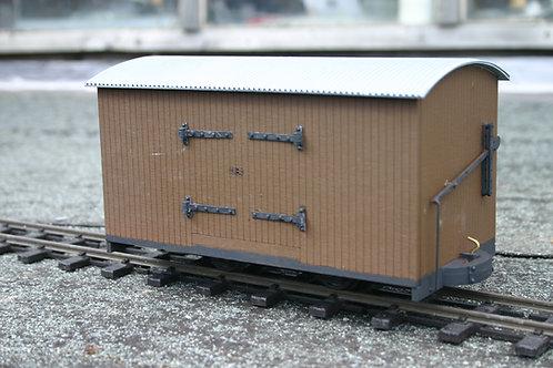 Darjeeling Wooden Goods Wagon Kit