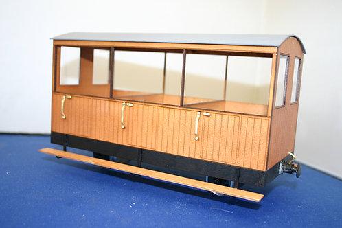 VOR Matchboard Short Passenger Coach Kit