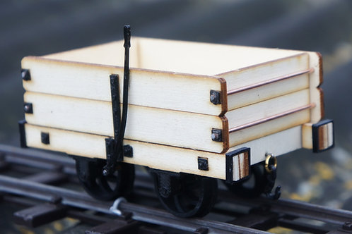 16mm scale Talyllyn / Aberllefeniopen wagon kit