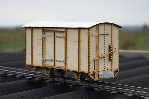 16mm Scale Darjeeling 4 Wheel Steel Side Goods Van kit