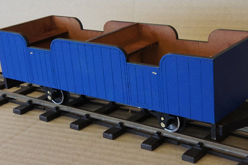Ezee Third Class Passenger Coach Kit
