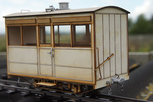 Early GVT Third Class Centre Door Carriage Kit