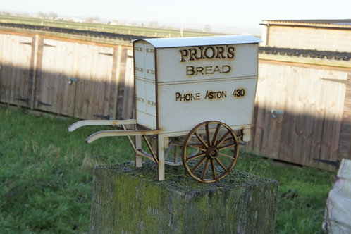 16mm scale Bakers Hand Cart Kit