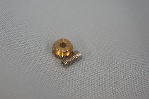 Brass Steel Gear set 26:1