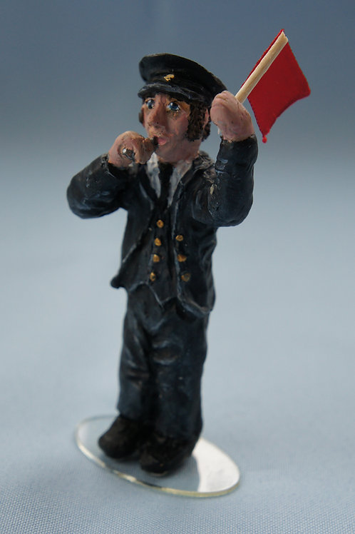 1038 Ernie Scrips Always on time is our guard (Height 90 mm)