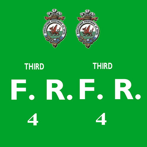 Ffestiniog No 4 Third Class Bug Box Coach Decals £6.00 per set
