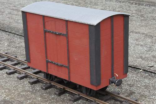NWNGR Curved Door Goods Wagon Kit