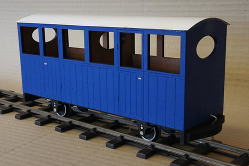 Ezee Second Class Passenger Coach Kit