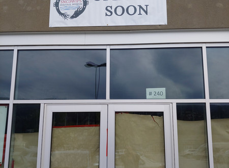 Getting Ready to Open soon!!