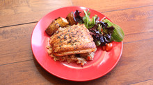 Seared Black and Gold Salmon Recipe : In Syrena's Kitchen