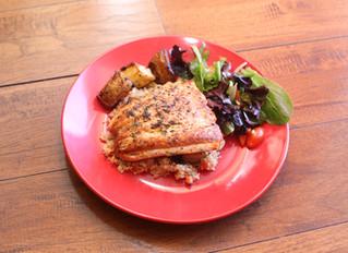 Seared Black and Gold Salmon Recipe : In Syrena's Kitchen