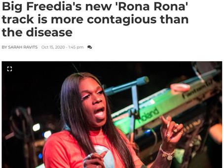 """BIG FREEDIA'S CONTAGIOUS VIDEO """"RONA RONA"""" FEATURED ON NOLA.COM"""