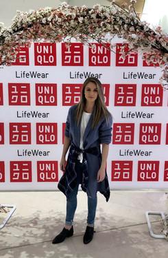 Wearing Uniqlo 2020