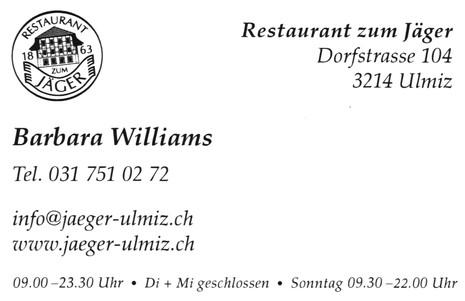 Restaurant Jäger Ulmiz