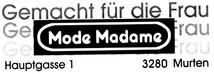 Mode Madame