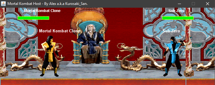Mortal Kombat Clone