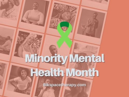 An Introduction to Minority Mental Health Month