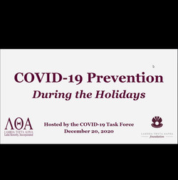 COVID-19 Prevention During the Holidays