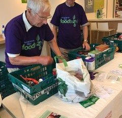 Waitrose Portishead Food Collection Success