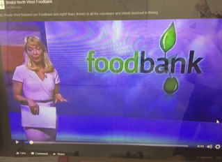 BBC Points West featured our Foodbank this week
