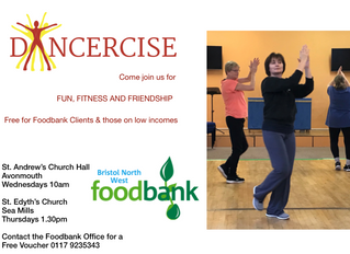 New Dancercise Classes for Foodbank Clients