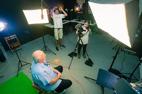 9/19-11/21 Intro to Digital Film