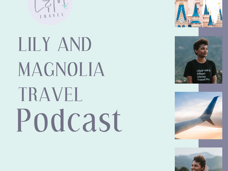 The end of Season 1 of The Lily and Magnolia Travel Podcast!