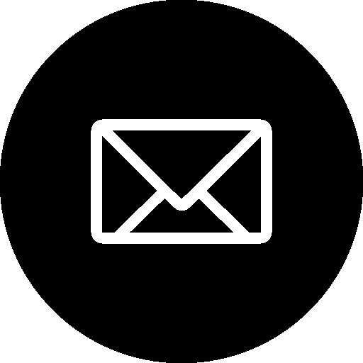 Email - Black Circle