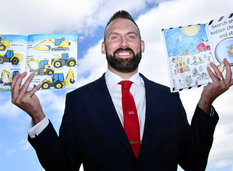 Moorlands man conquers dyslexia to write a children's book