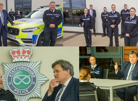 Staffordshire Police welcome policing minister to the county