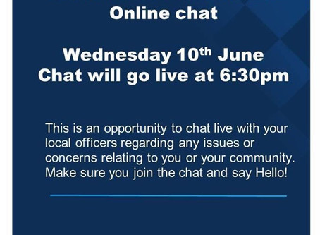 Staffordshire Moorlands Police online to answer your questions